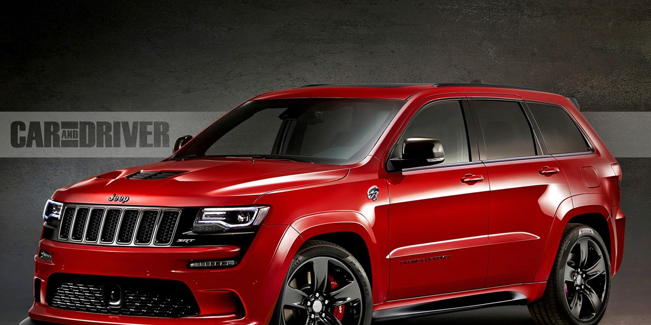 Srt8 Jeep Trackhawk >> 2017 Jeep Grand Cherokee Trackhawk 25 Cars Worth Waiting For 8211