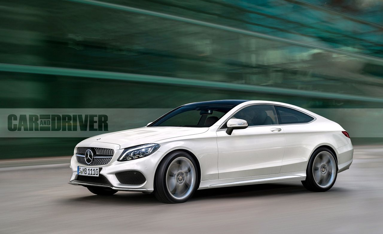 2017 Mercedes-Benz C-class Coupe: Two to Make It Right