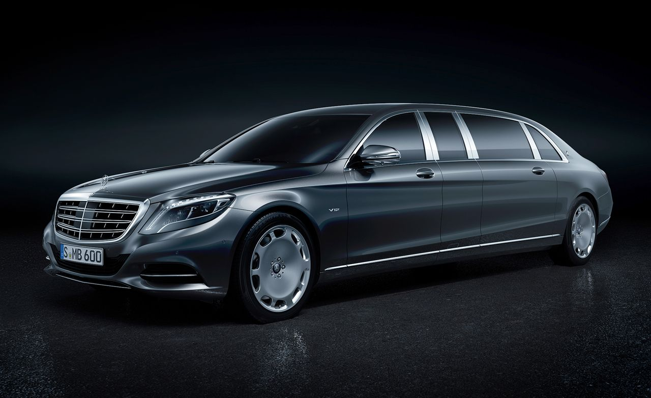 2018 Mercedes-Maybach Pullman Pictures | Photo Gallery