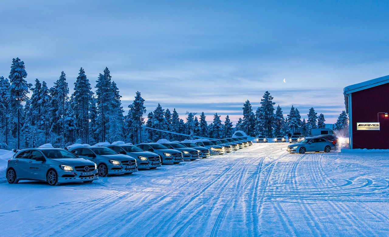 Smart Choice Auto >> Driving AMGs in Sweden in the Dead of Winter | Feature ...