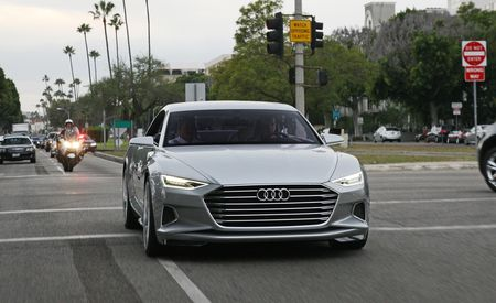 Coupe Beverly Hills: We Drive the Stunning Audi Prologue Concept