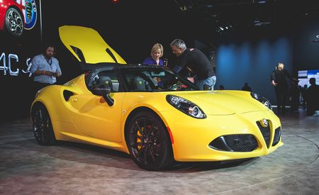 2015 Alfa Romeo 4C Spider: And Along It Came