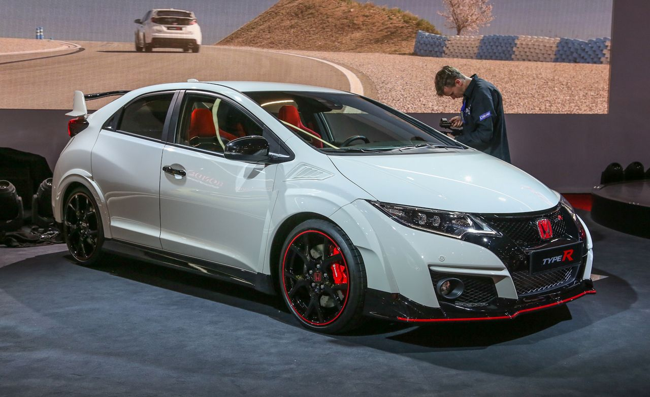 2015 Honda Civic Type R Debuts: It's Your Everyday 168-mph Civic