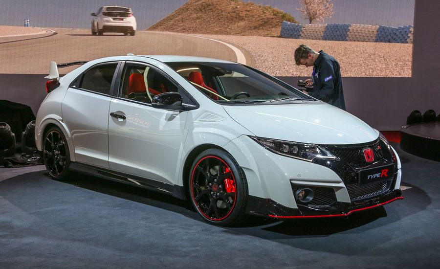 2015 honda civic type r photos and info news car and driver. Black Bedroom Furniture Sets. Home Design Ideas