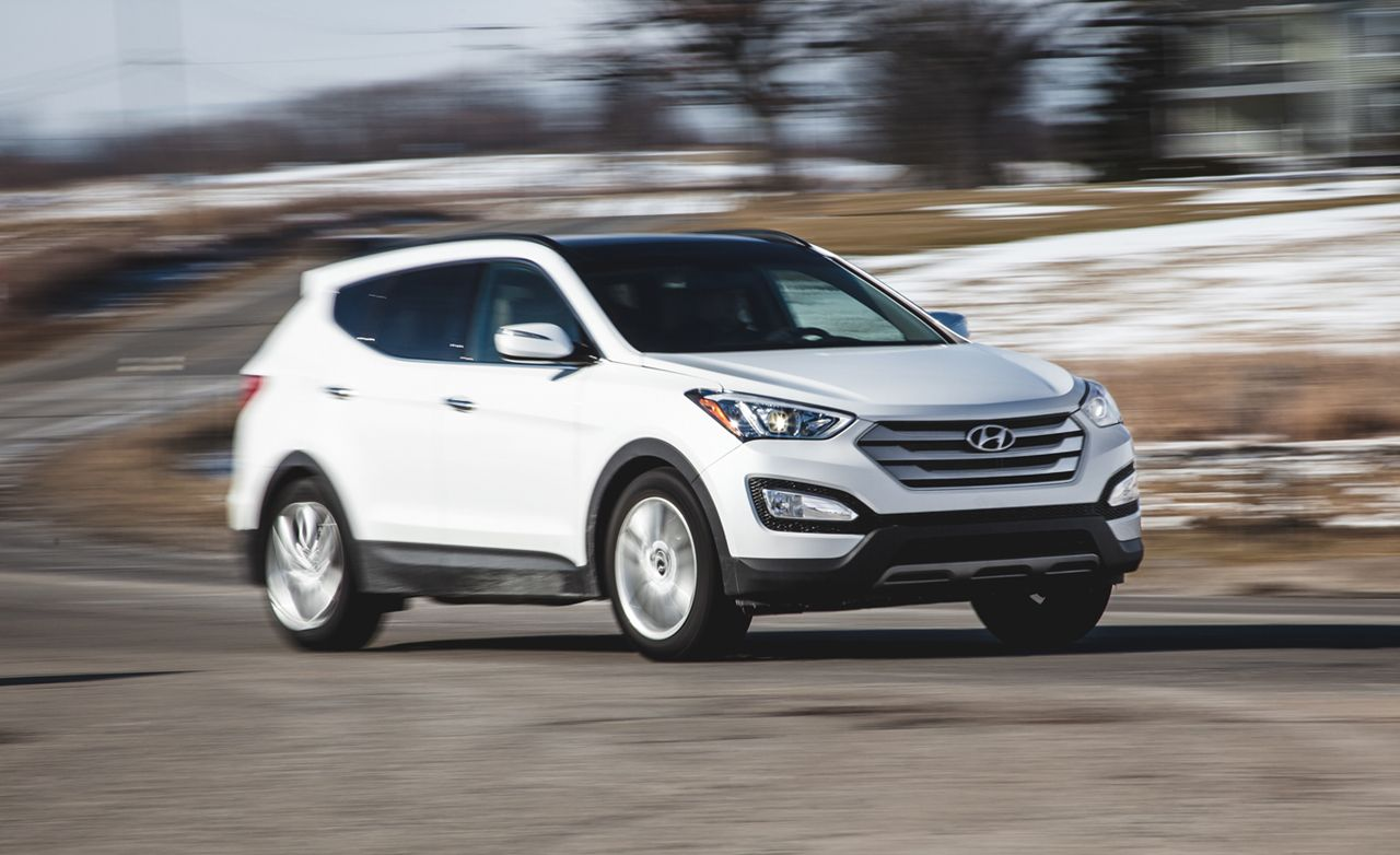 2017 Hyundai Santa Fe Review Seven Penger Suv Car And Driver
