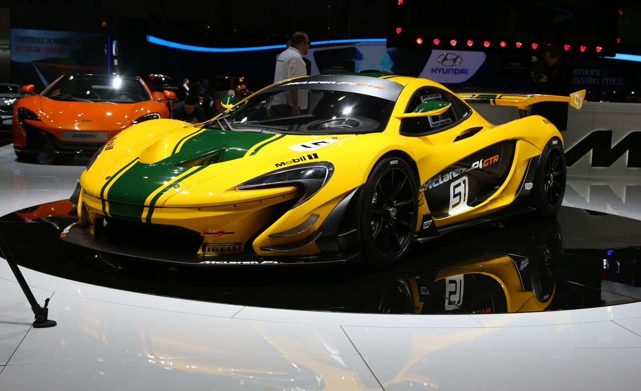 2015 McLaren P1 GTR: A $3.1-Million Track Weapon