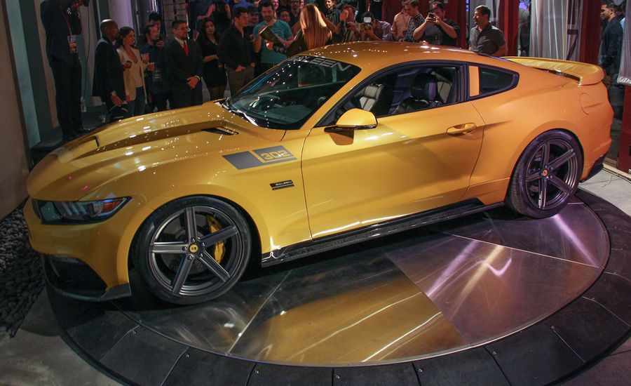 2015 saleen mustang s302 black label revealed news car and driver. Black Bedroom Furniture Sets. Home Design Ideas