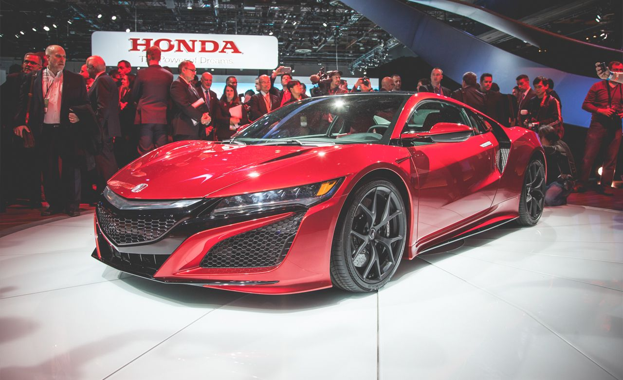 2016 Acura NSX, the Real One
