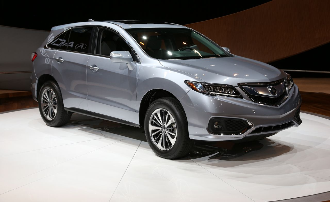 2016 Acura RDX Revealed New Looks More Power  News  Car and Driver