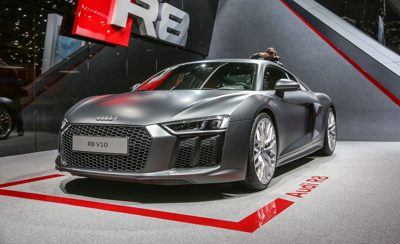 2016 Audi R8 Debuts with More Power, Lower Weight