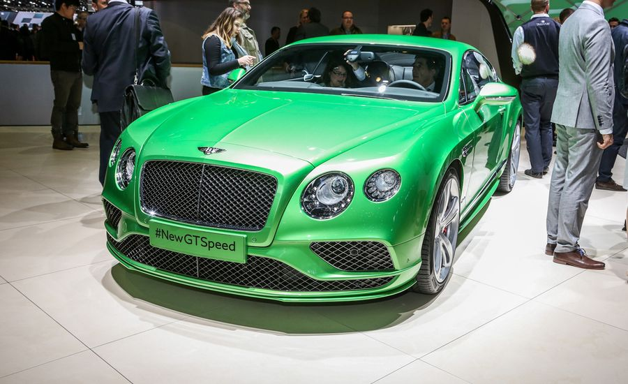 2016 Bentley Continental GT: Updated for Rich Folks' Pleasure