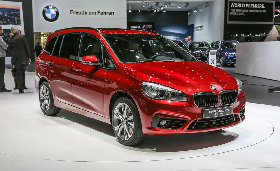 BMW Series Gran Tourer Revealed News Car And Driver - Bmw 2 series gt