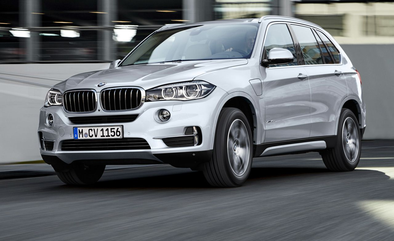 2016 Bmw X5 Xdrive40e Plug In Hybrid News Car And Driver