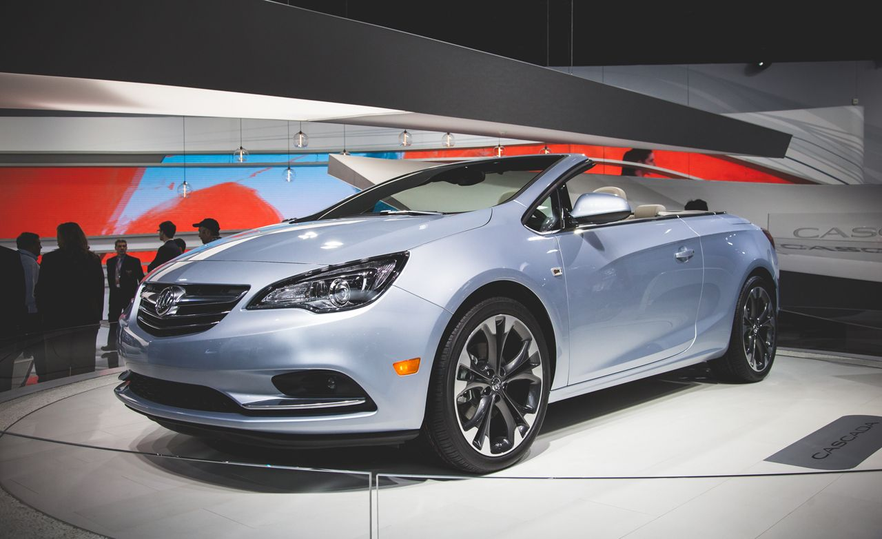 2016 Buick Cascada Convertible: From Opel, with Love