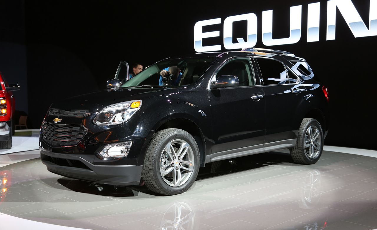 2016 Chevrolet Equinox Crossover Photos and Info – News – Car and ...