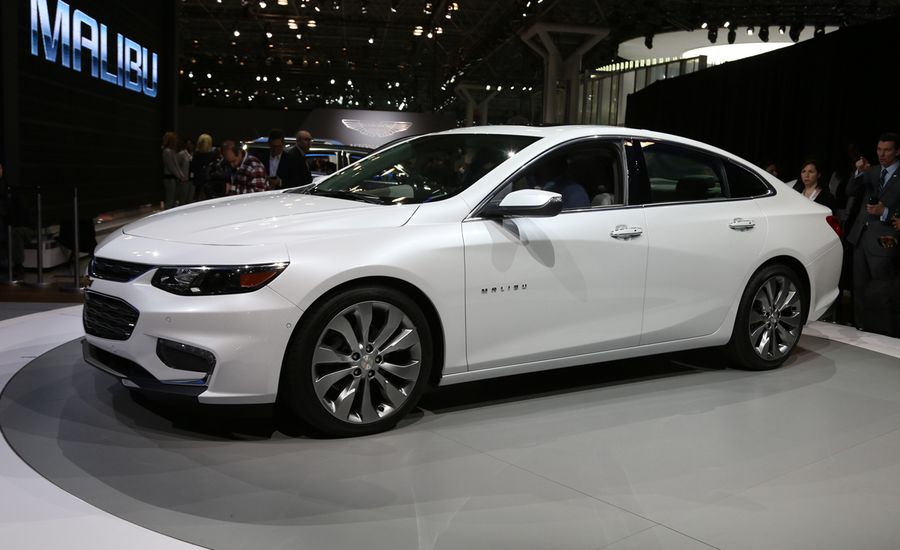 2016 Chevrolet Malibu Photos and Info | News | Car and Driver