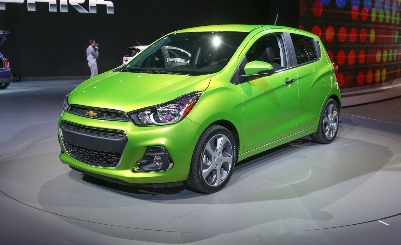 2016 Chevrolet Spark Photos and Info – News – Car and Driver