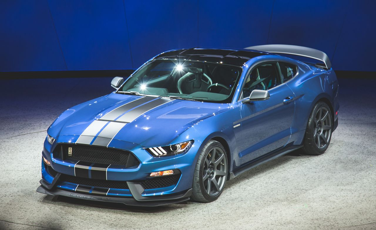 2016 Ford Mustang Shelby Gt350r Photos And Info News Car And