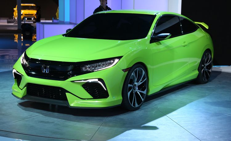 2016 Honda Civic Coupe Concept: A Direct Preview of the All-New Car