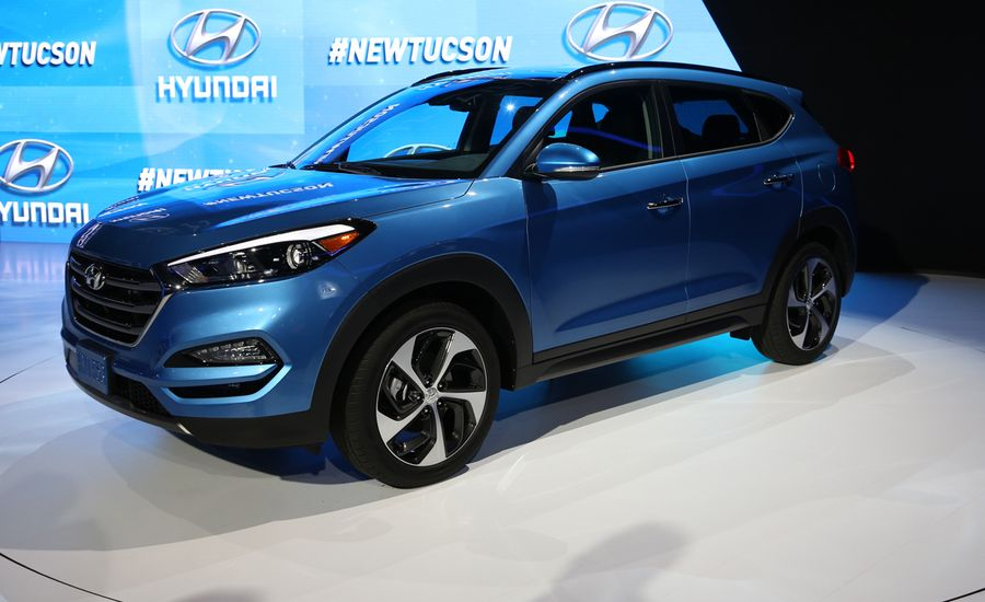 2016 Hyundai Tucson Official Photos and Info | News | Car and Driver
