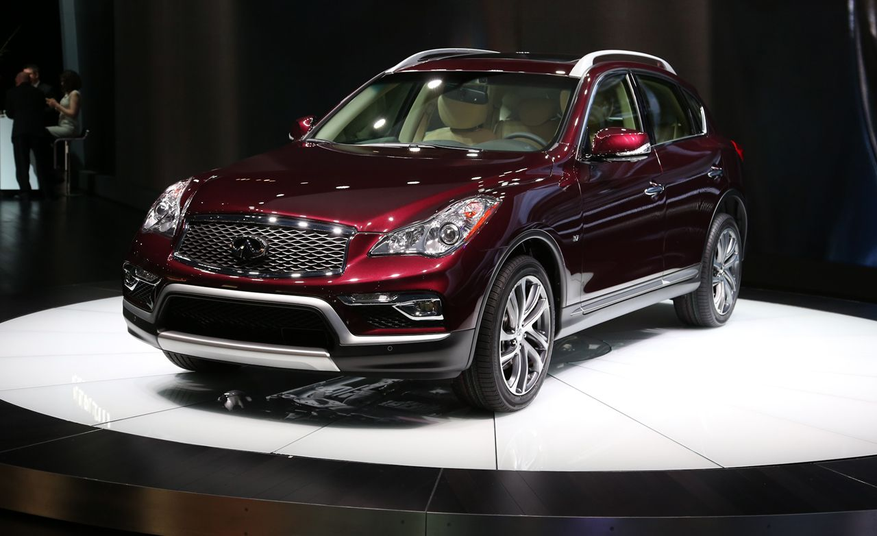 2016 Infiniti QX50: Longer But Not Any Stronger