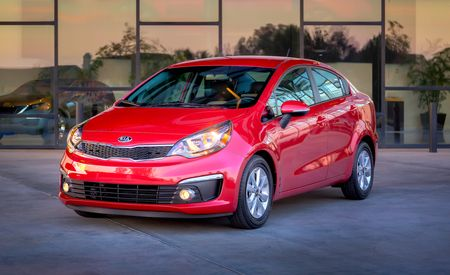 2016 Kia Rio Sedan and Hatchback: They're Still Here