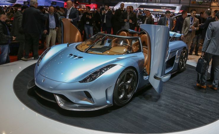 2016 Koenigsegg Regera: 1500 Horsepower, Single-Speed Gearbox