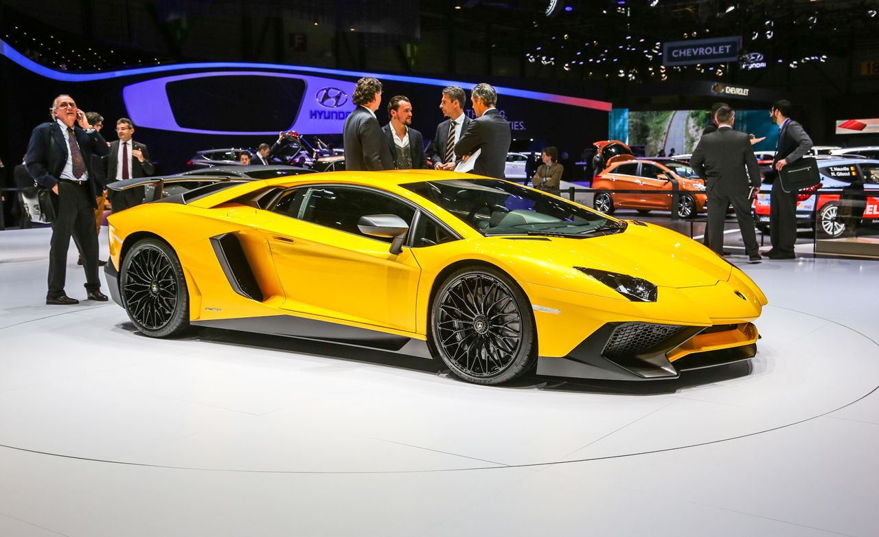 2016 Lamborghini Aventador Lp750 4 Sv First Drive Review Car And