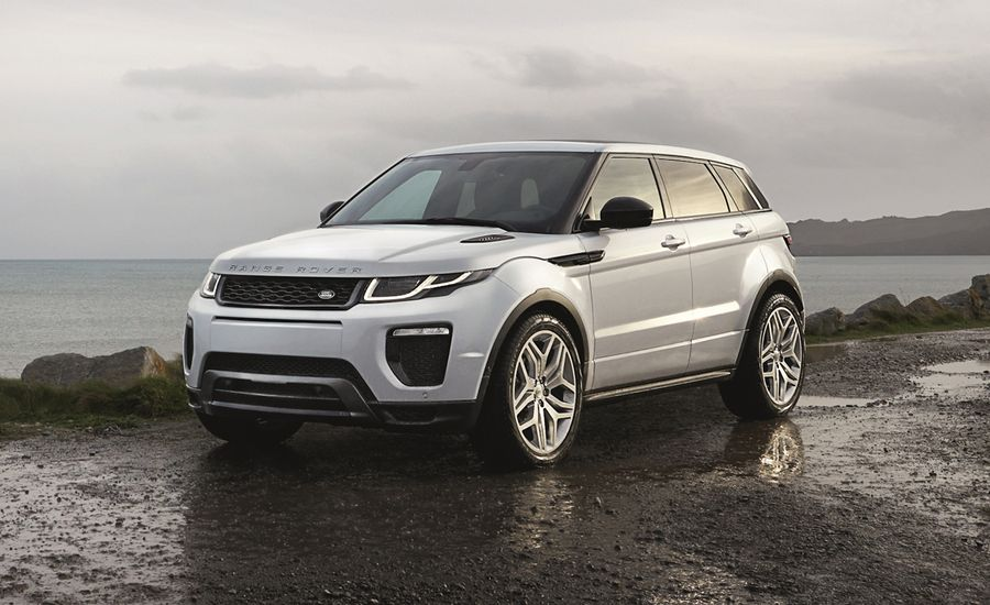 2016 Land Rover Range Rover Evoque: Updated Tech and Styling