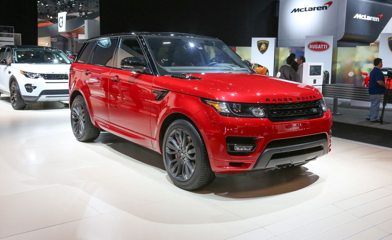 2016 land rover range rover sport hst limited edition photos and info news car and driver. Black Bedroom Furniture Sets. Home Design Ideas