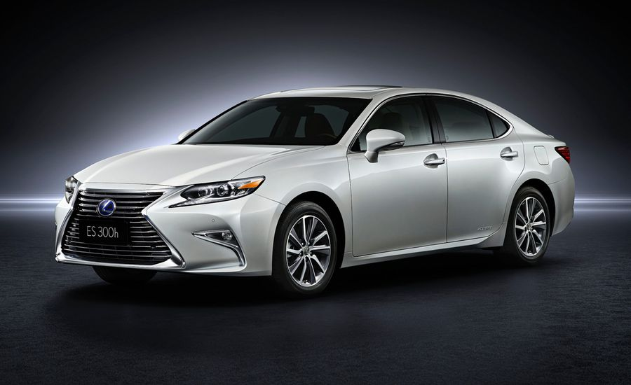 2016 Lexus ES: Easy-Livin' Luxury, Updated