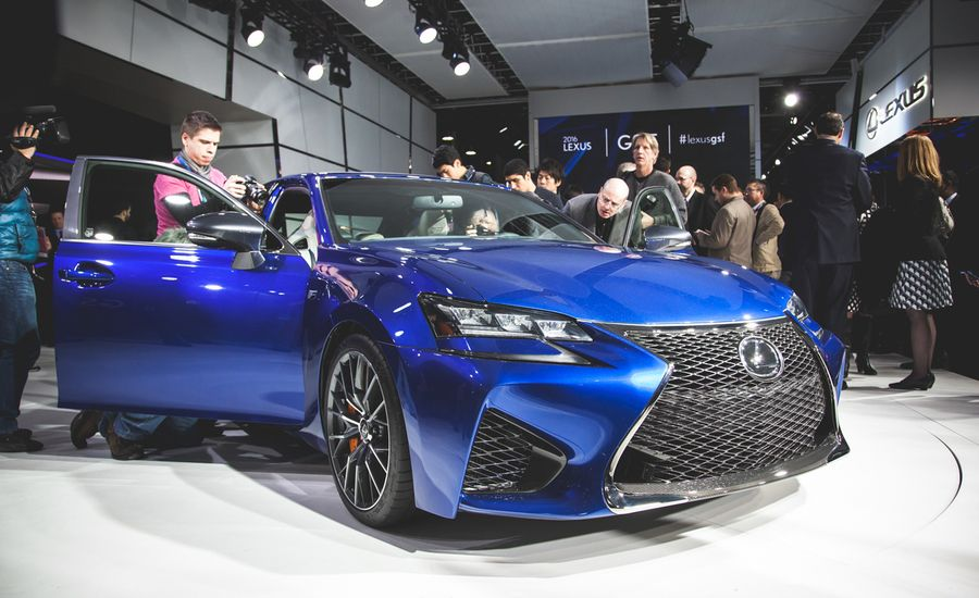 2016 Lexus GS F: Think of This 467-hp Executive Express as the Genteel Sports Sedan