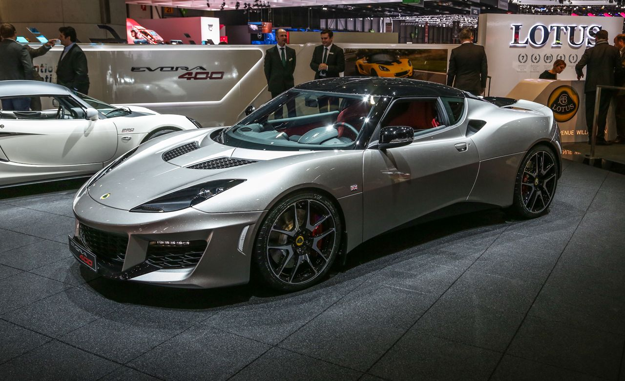 2016 Lotus Evora 400 Photos and Info | News | Car and Driver