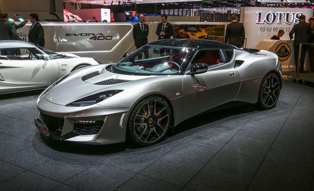2016 Lotus Evora 400: More Power—and U.S.-Legal!