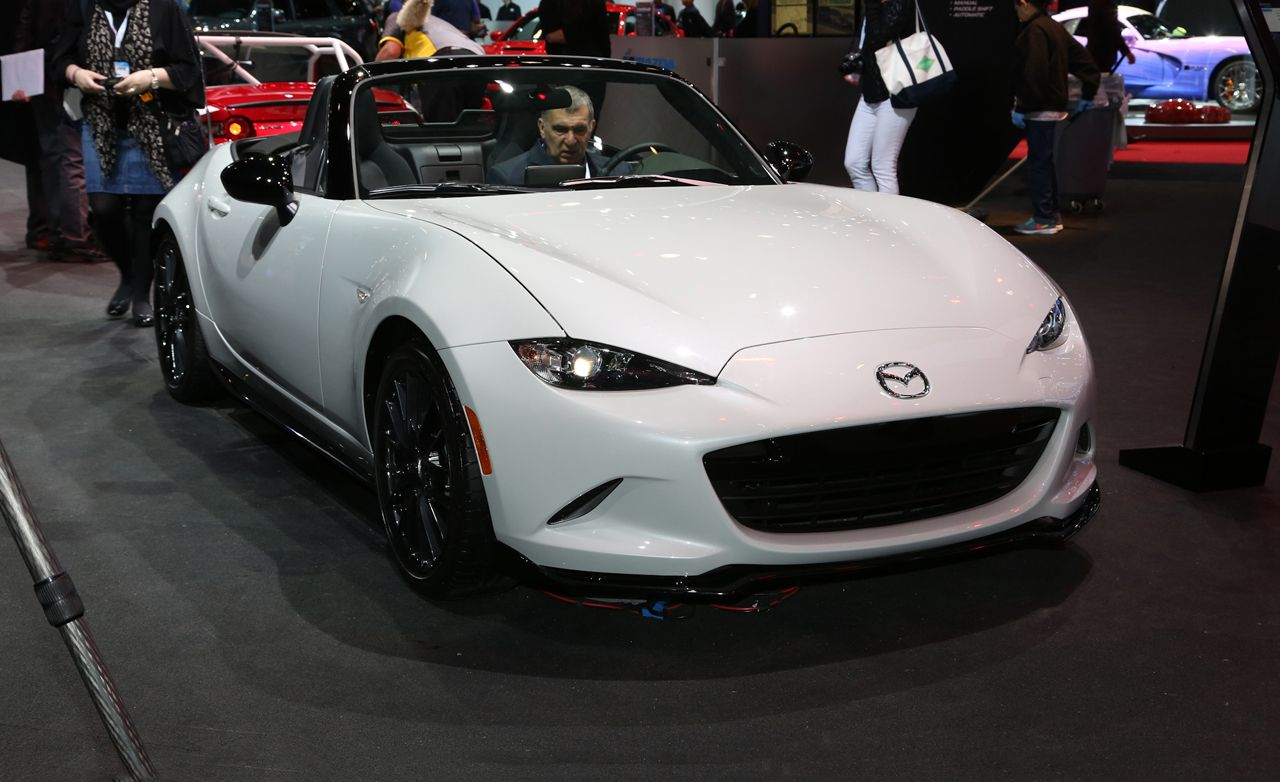 2016 mazda mx 5 miata club photos and info news car and driver rh caranddriver com Cars That Are Automatic 2016 miata manual vs automatic