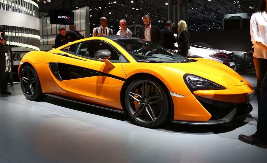2016 Mclaren 570s The First Sports Series Model Has Arrived