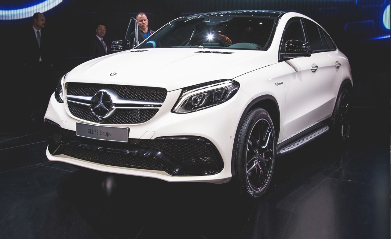 2016 mercedes amg gle63 s coupe 4matic photos and info news car and driver