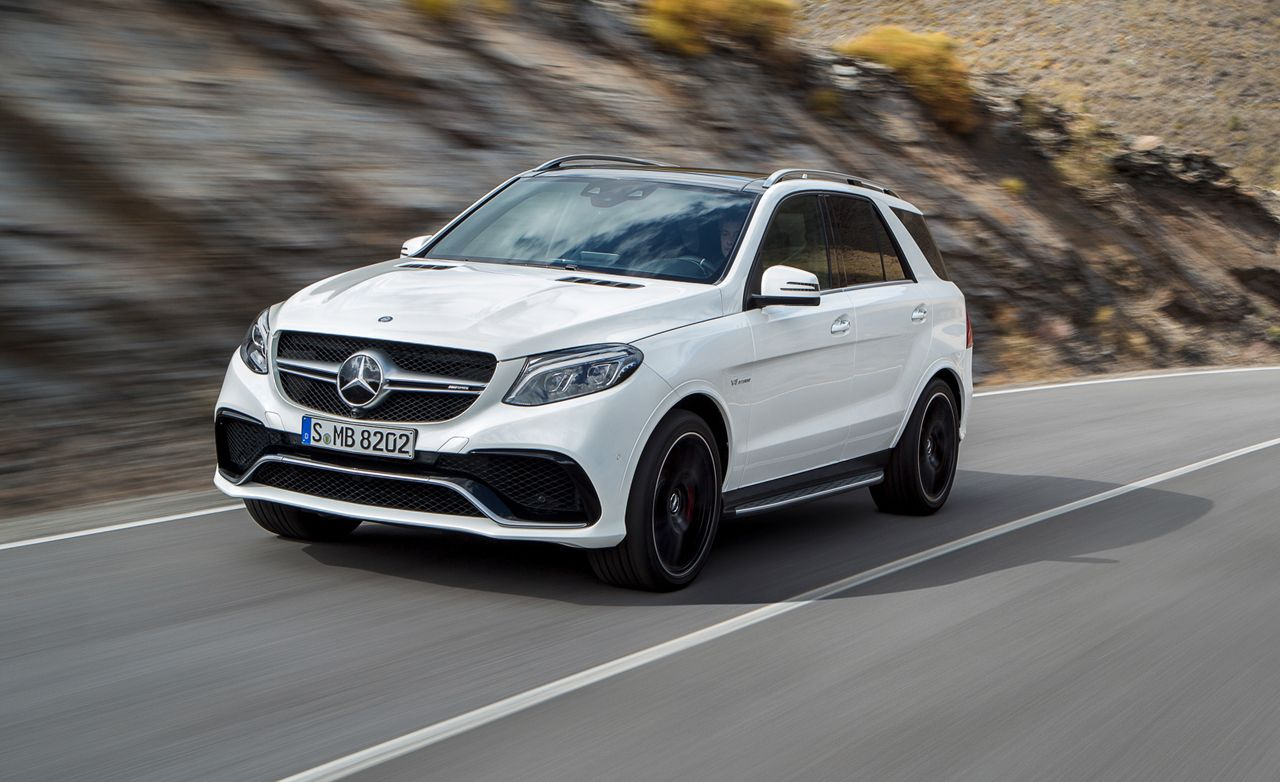 2016 mercedes benz gle class photos and info news car and driver
