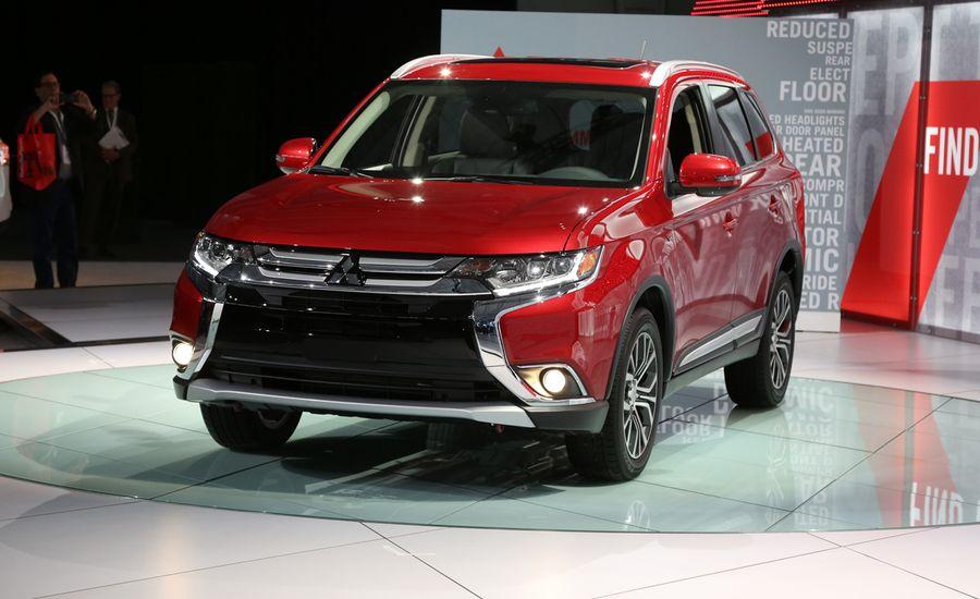2016 Mitsubishi Outlander: It's a Mitsubishi