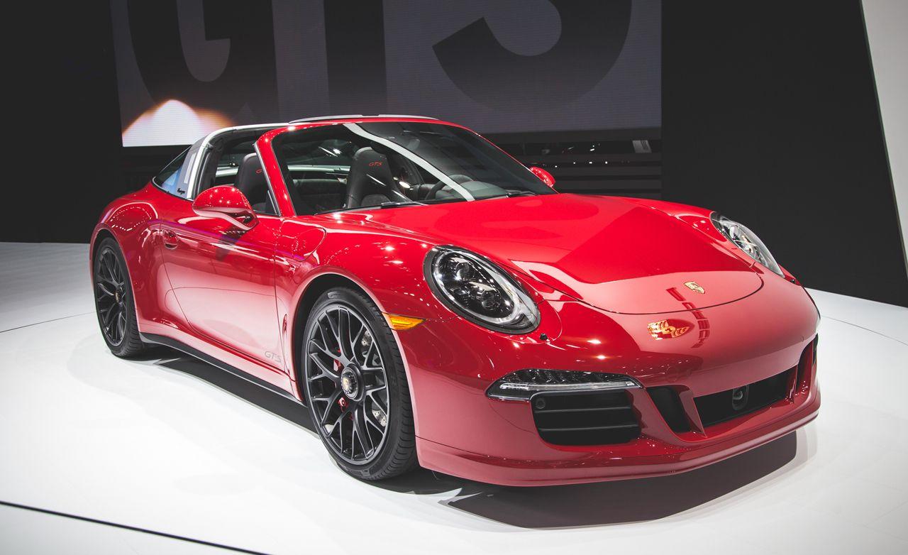2016 Porsche 911 Targa 4 GTS: More Power for the Flip-Top