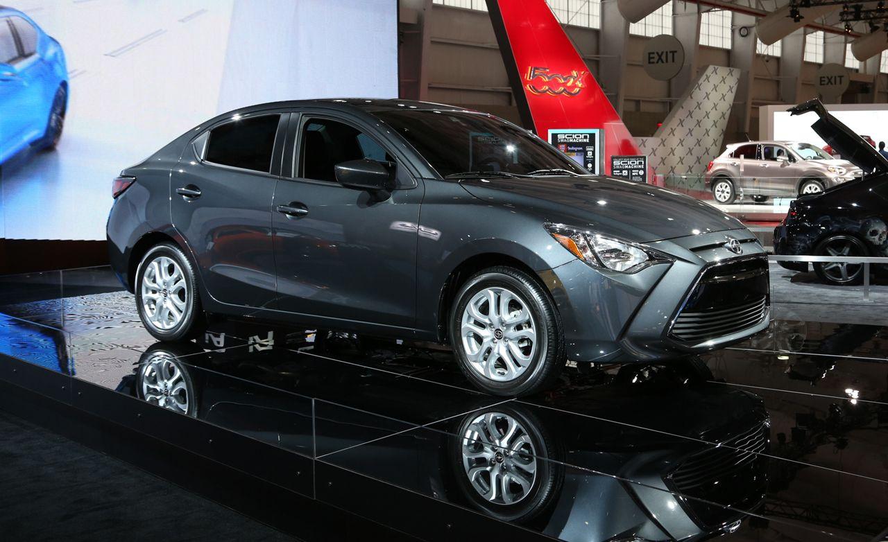 2016 Scion iA: A Mazda 2 Sedan with a Scion Badge