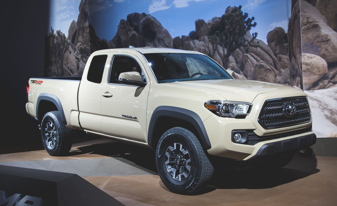 2016 Toyota Tacoma Debuts, Is (Mostly) Modern