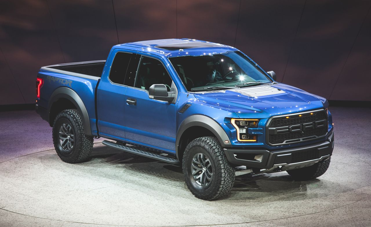 2017 ford f-150 raptor photos and info | news | car and driver