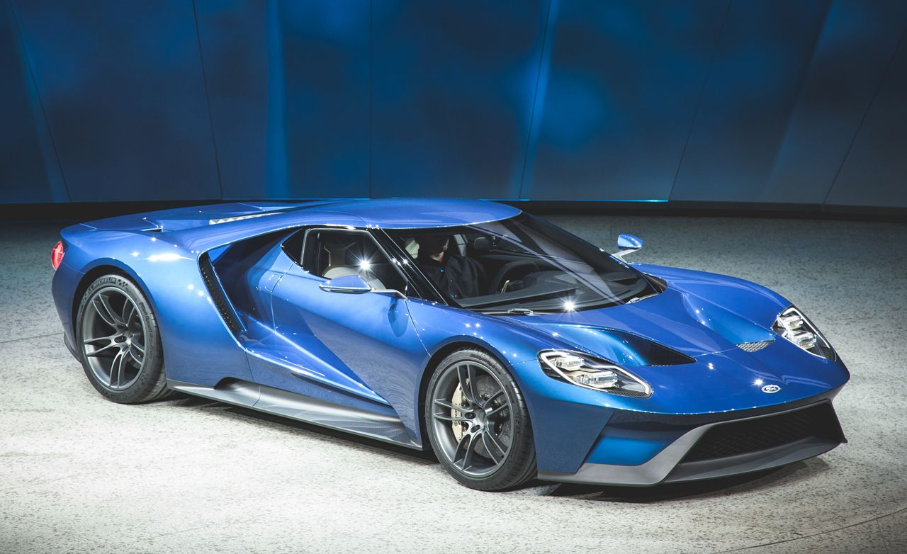 2017 Ford GT: The Star-Spangled, 600-plus-hp Hypercar!