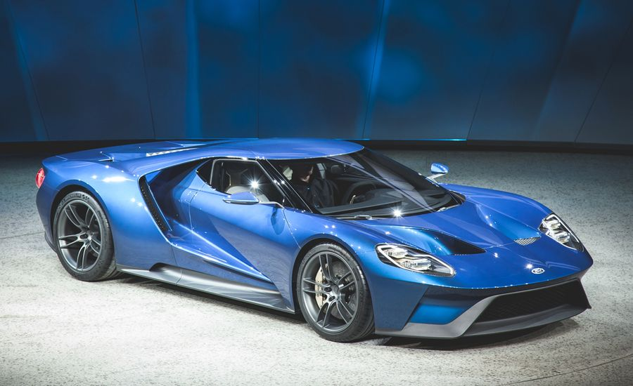 2017 Ford GT Official Photos and Info | News | Car and Driver