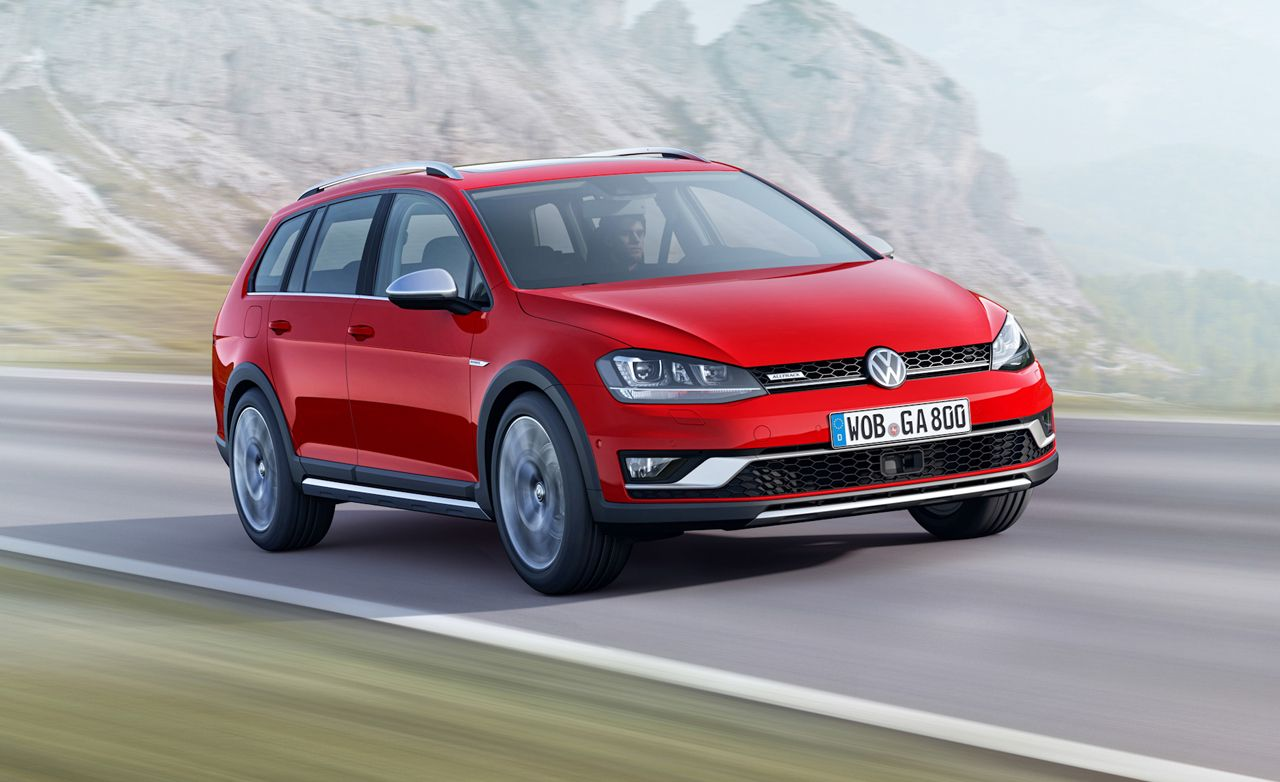 2017 Volkswagen Golf SportWagen Alltrack: Yep, It's Coming to America