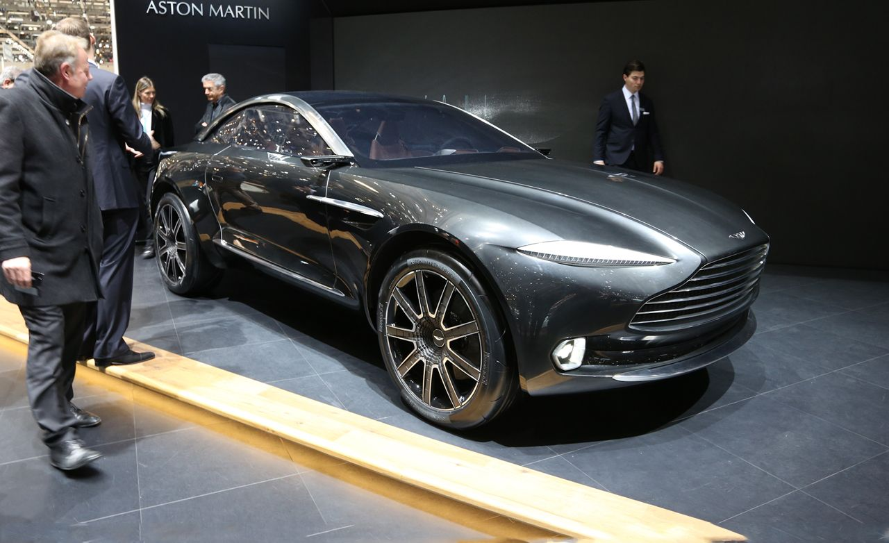 Aston Martin DBX Concept Photos and Info | News | Car and ...