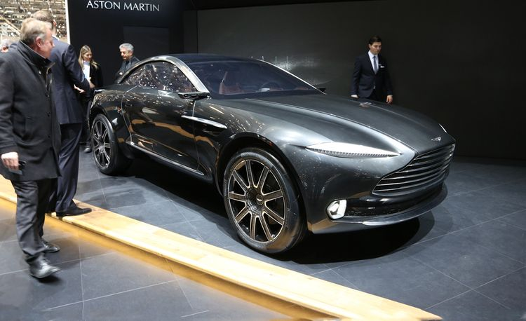 Aston Martin DBX Concept: A Gorgeous, Lifted, AWD Electric Sports Car