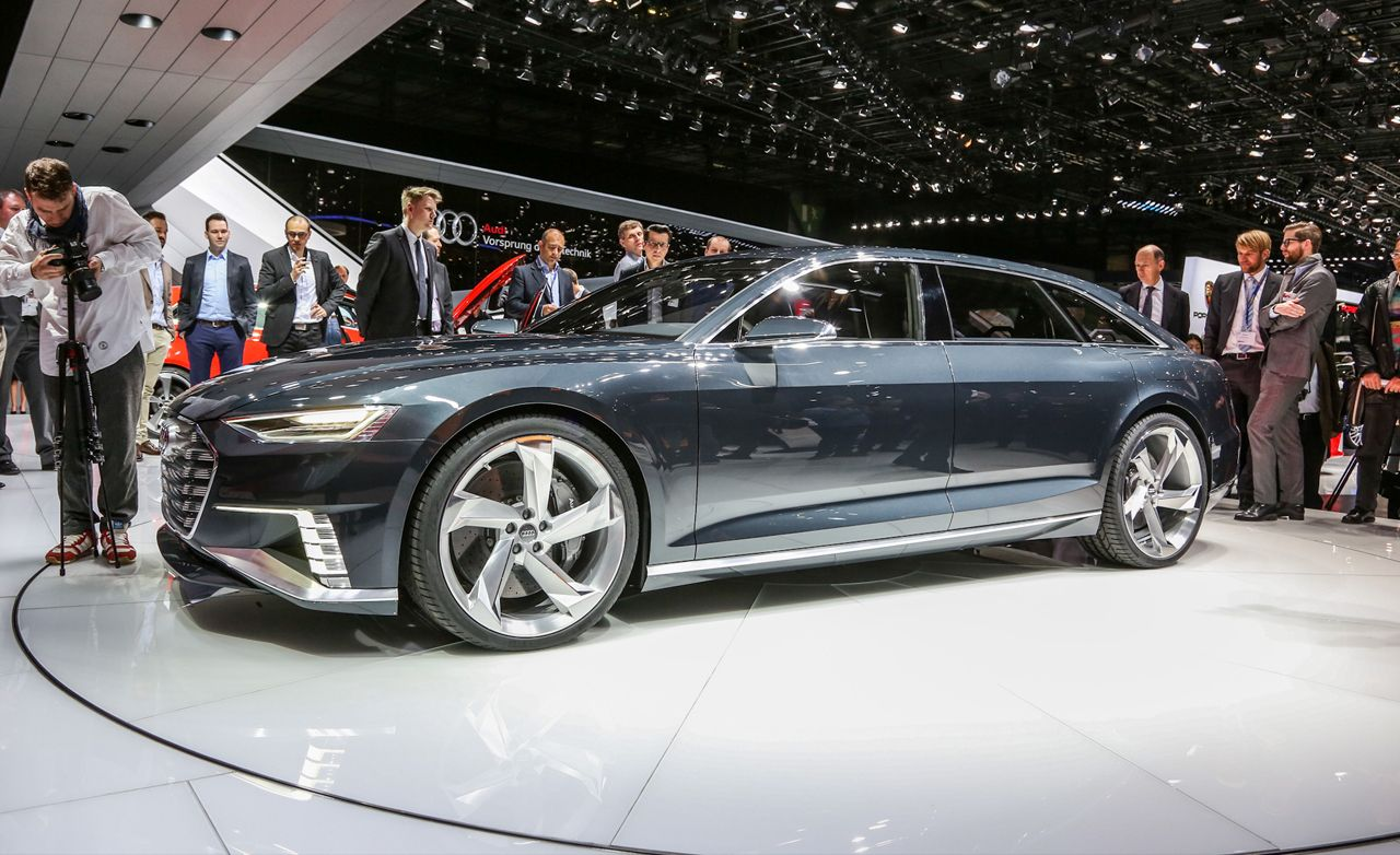 Audi Prologue Avant Concept: A Coupe Turns Into a Station Wagon