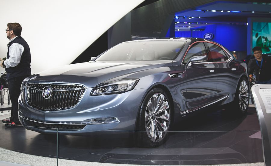 Buick Avenir Concept: A Flagship. From Buick. And It's Hot